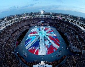 2012-london-olympics-closing-ceremony-union-jack-flag-by-damien-hirst-01